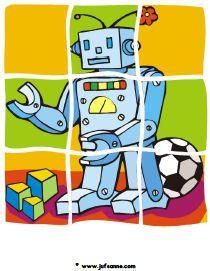 puzzel robot » Juf Sanne