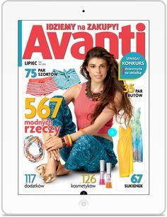Avanti to największy w Polsce magazyn shoppingowy. Klient: AGORA SA Wersja: iOS