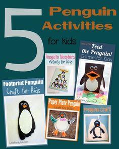 5 Penguin Activities