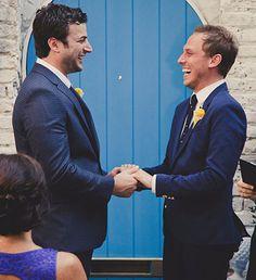 Flow Ceremonies - Just married LGBT Grooms
