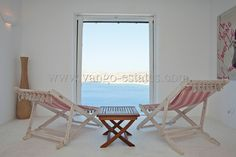 Minimal house for holiday rental Elia beach Mykonos