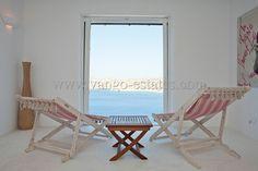 Minimal house for holiday rental Elia beach Mykonos