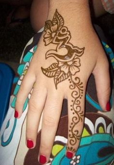 hand Henna Tattoo Designs