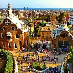 Park Güell, Barcelona (Spain)