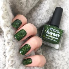 Picture polish - forest #nails #nailsofinstagram #nailsoftheday #picturepolish #naturalnails #newnail #nailpolish #indienailpolish
