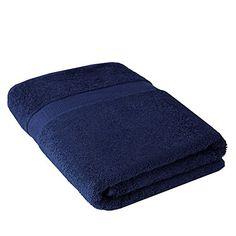 Handtuch Duschtuch Bio-Baumwolle 70x140 cm in Blau Frottier 100% Baumwolle NATUREHOME http://www.amazon.de/dp/B01AY9PJQG/ref=cm_sw_r_pi_dp_GrLPwb1V3M1F0