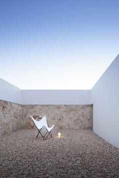 Outdoor patio - Bosc d'en Pep Ferrer Residence on Formentera by Marià Castelló