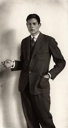 Student by August Sander, 1926