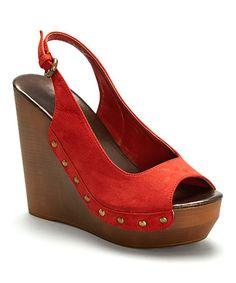 Look at this #zulilyfind! Rust Nancee II Sandal #zulilyfinds