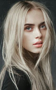 70 Trendy Hair Brunette Pale Skin Light - Care - Skin care , beauty ideas and skin care tips Blonde Hair With Roots, Blonde Hair Girl, Cool Blonde, Pale Skin Blonde Hair, Light Blonde, Light Brunette, Beige Hair, Beautiful Blonde Girl, Bleach Blonde Hair