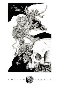 Corpses And Honey by Waldez Snegotskiy, via Behance