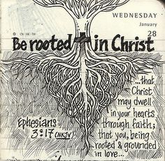 Be rooted in Christ, not in religion.