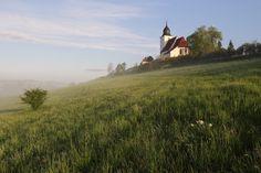 Kostel sv. Vavřince Zdouň   Buděticko Czech Republic, Monument Valley, Mountains, Places, Nature, Travel, Beautiful, Bohemia, Naturaleza