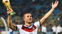 Podolski: Seine Karriere in der Nationalmannschaft