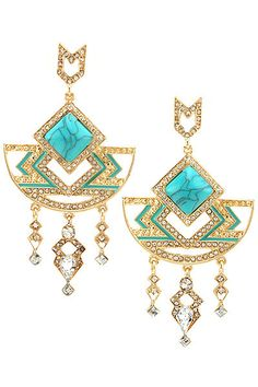 Queen of the Nile Dangle Earring Set