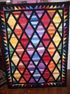 Quilt of Valor made with fair blocks