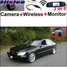Lisslee Camera + Wireless Receiver + Monitor Parking System For Mercedes Benz S MB W220 S280 320 400 350 430 500 600 55 63 65 #Affiliate