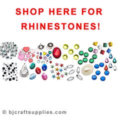 Shop our large variety of different styles, shapes, and sizes of rhinestones! Cheap Craft Supplies, Kids Pages, Easy Crafts For Kids, Activities For Kids, Arts And Crafts, Sparkle, Glitter, Shapes