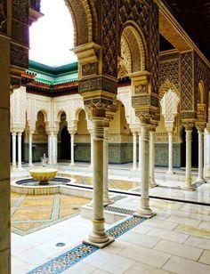 Putrajaya, Islamic Architecture, Beautiful Architecture, Art And Architecture, Morrocan Architecture, Architecture Wallpaper, Architecture Portfolio, Moroccan Design, Moroccan Decor