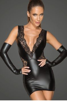 Catsuit, Robes Glamour, Edgy Dress, Glamorous Dresses, Latex Dress, Mini Vestidos, Sexy Skirt, Overall, Clubwear