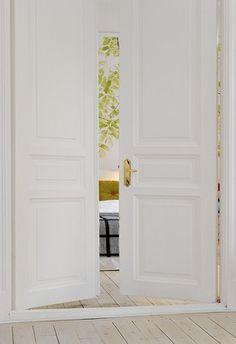 swedish dream homes. I really like the doors