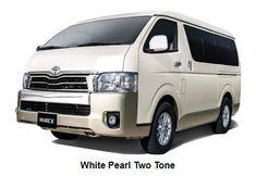 2018 Toyota Hiace White Pearl Best Car Deals, Toyota Hiace, Toyota Cars, Philippines, Automobile, Pearl, Van, Autos, Car