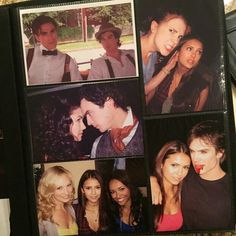 On the day of the finale airing, Dobrev posted a #TBT series from years past.