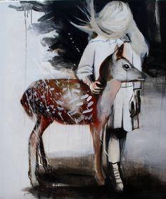 Painting by Hanna Ilczyszyn