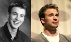 Chris Evans<--------------before:Aaaaaaaa!handsomeness overload!!<3<3After:Still just as awesome!<3<3<3<3<3