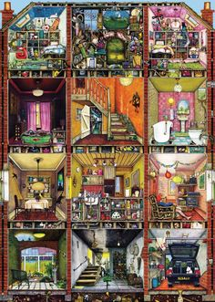 Colin Thompson :  Higgledy Piggledy House