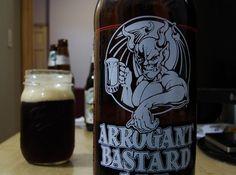 Stone Brewery, Arrogant Bastard Ale.
