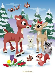how to draw clarice the reindeer | How to Draw | Christmas ...
