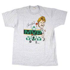 676d9fedd1f Vintage Larry Bird MVP Caricature T shirt