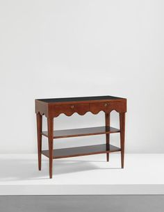 """View """"Ondulation"""" console, from The Scotch Club, Beirut by Jean Royère sold at Design on New York Auction 9 June 2015 Learn more about the piece and artist, and its final selling price Dream Furniture, Art Deco Furniture, Table Furniture, Vintage Furniture, Furniture Inspiration, Home Decor Inspiration, Color Inspiration, Low Tables, Vintage Home Decor"""