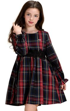 Toddler Girls Plaid Dresses Long Sleeve Warm Dress for School Autumn Winter Purp. - - Toddler Girls Plaid Dresses Long Sleeve Warm Dress for School Autumn Winter Purple – Purple – – Girls' Clothing, Dresses, Casual # # Source by prettykikscom Cute Girl Dresses, Girls Casual Dresses, Little Girl Dresses, Winter Dresses For Girls, Little Girl Clothing, Dress Casual, Kids Clothing, Dress Outfits, Girl Outfits