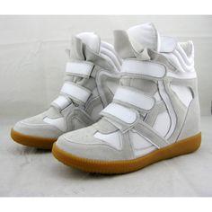 Isabel Marant Bekket Suede Sneaker Gray White