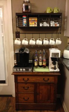 1000 images about coffee bar on pinterest marble top tea station and coffee. Black Bedroom Furniture Sets. Home Design Ideas