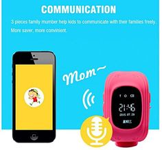 MD Group Smart Watch GPS Tracker Pink Anti-Lost SOS Security Alarm Monitor for Kids Baby Pets. A key to SOS distress: in an emergency, press the SOS button, namely to guardian sent a distress message. Double positioning: GPS satellites and dual monitoring base station positioning all real-time positioning tracking. Smart power-saving: GPS closed mode. Remote monitoring, high sensitivity of the microphone, the users in emergency, the voice of the real-time monitoring equipment around…