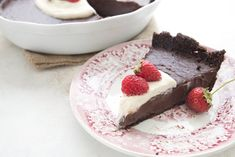 Low Carb Chocolate Pudding Pie (nut-free)