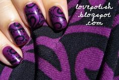 purple prints, will have 2 try this!