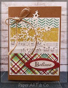 Weihnachtskarten mit ***Mistletoe Magic von My Minds Eye***