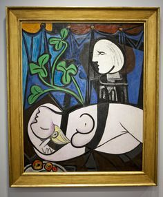 """Pablo Picasso - """"Nude, Green Leaves and Bust""""  #pricelessart #mostexpensive #picasso #luxury"""