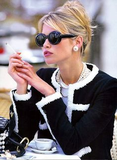 pearls + chanel forever