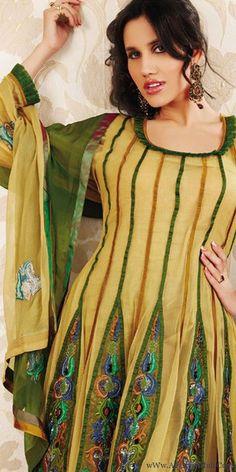 Indian Anarkali Suits 2012 Fashion