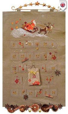 Surprises de l'Avent/Advent Calendar - Le Jardin D'Emilie