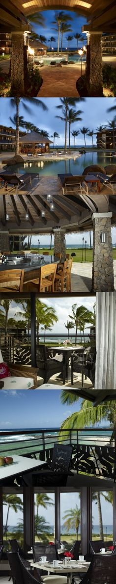Koa Kea Hotel & Resort is my dream come true!  Opened in April 2009, this amazing oceanfront Hawaiian hotel features 121-room boutique oceanfront, probably the most beautiful and romantic accommodations on the island.  #Hawaii, #Kauai