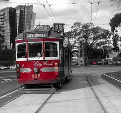 Old Melbourne Tram Melbourne Tram, Melbourne Victoria, Australian Models, Dream City, Where To Go, Places Ive Been, Trains, Real Life, Travel Destinations