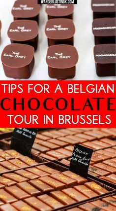 Figuring out what to do in Brussels? Take a chocolate tour to eat the best Belgian chocolate.Tips for finding the best chocolate tour in #Brussels #Belgium