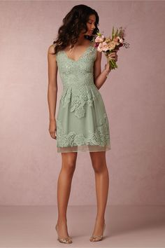 BHLDN Celestina Dress in  Bridesmaids Bridesmaid Dresses Short at BHLDN