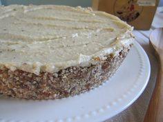 Raw Vegan Lavender Lemon Cheesecake